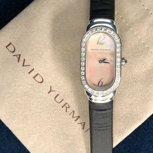 David Yurman Diamond Madison Watch